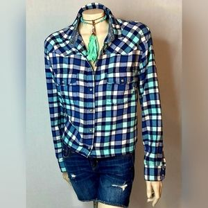 Jachs Girlfriend Bea Flannel SZ XL